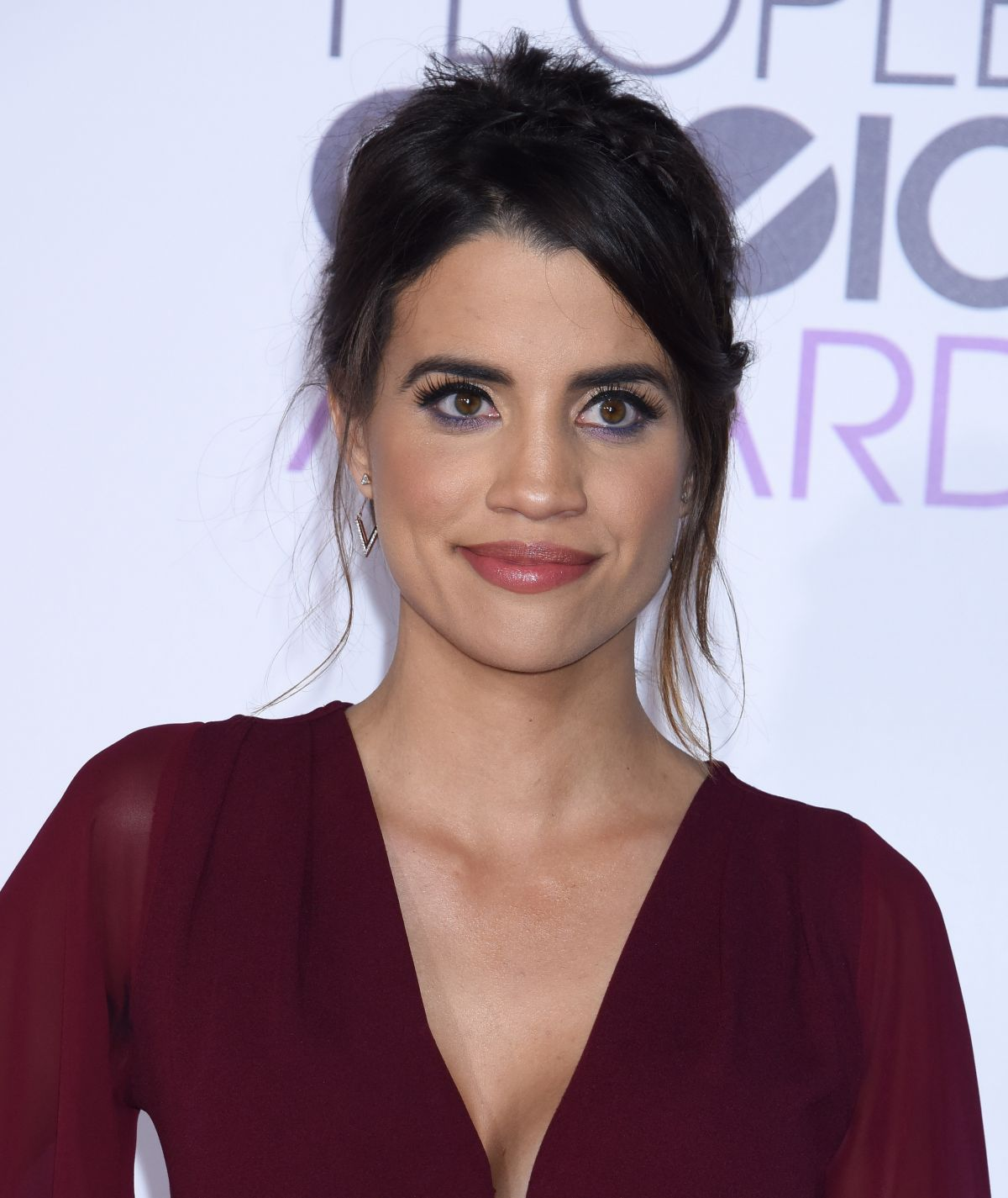 The 33-year old daughter of father (?) and mother(?), 167 cm tall Natalie Morales in 2018 photo