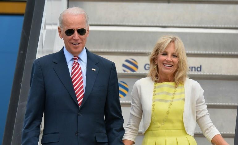 Joe Biden with Wife Jill Biden