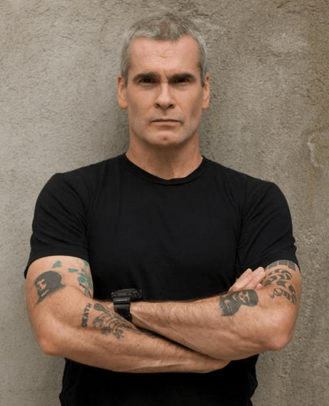 The 56-year old son of father Paul Garfield and mother Iris Garfield, 177 cm tall Henry Rollins in 2018 photo