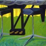 1980 12 02 G.D. Flügel Öl auf Leinwand 111x160 cm