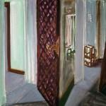 1980 14 01 Zwei Türen Öl auf Leinwand 55x45 1