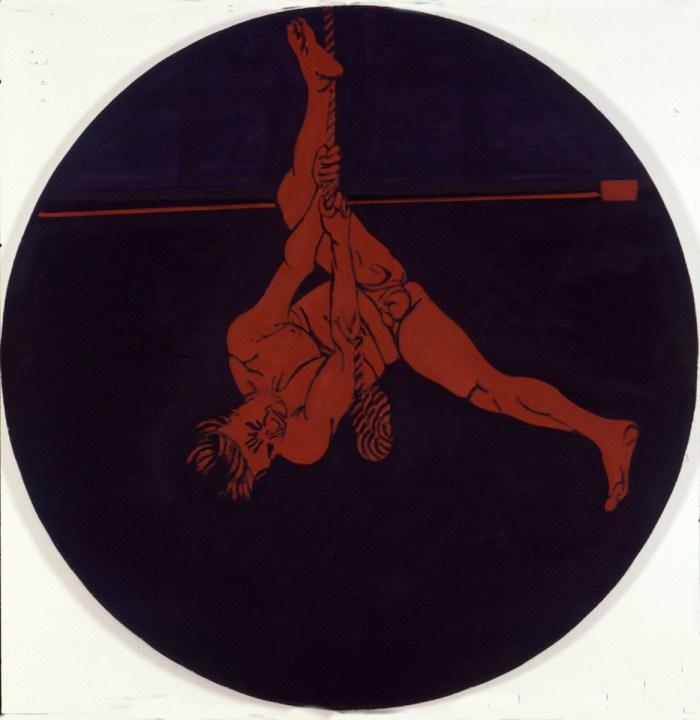 2002 07 02 Tondo I Acryl auf Leinwand o 200 cm