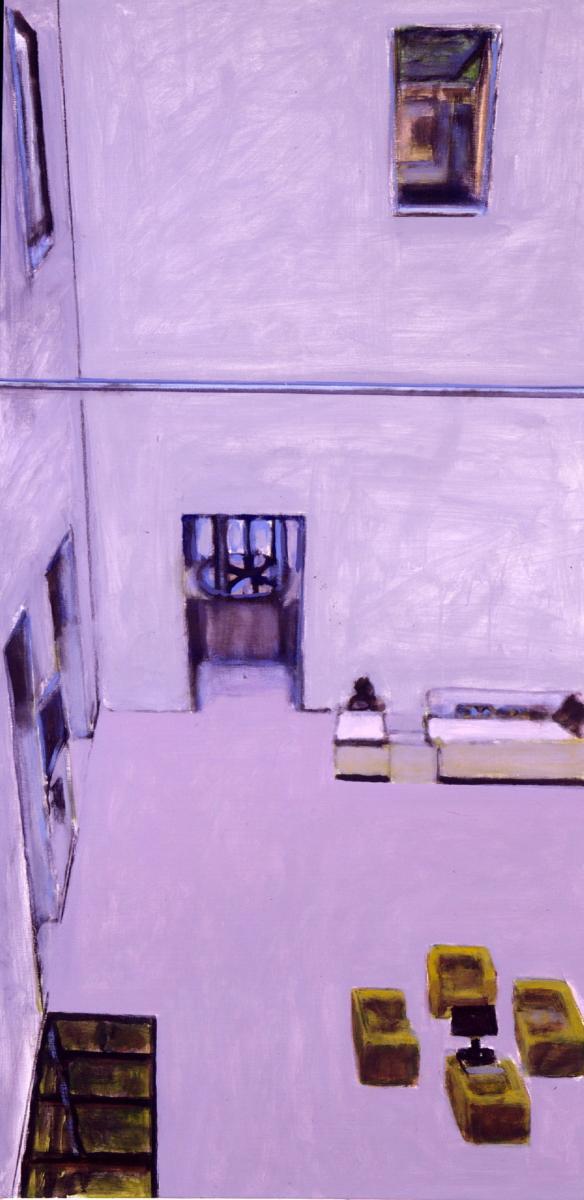 2006 15 02 Leopold II Acryl auf Leinwand 170x85 cm