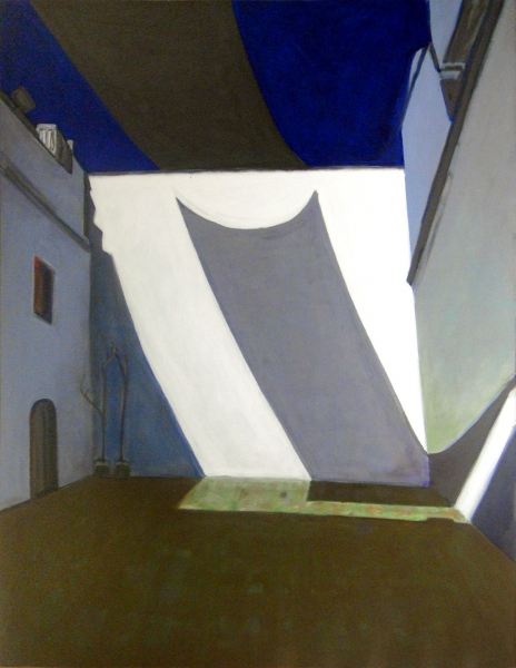 2009 05 01 Museum O. II Acryl auf Leinwand 210x160 1