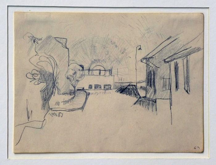 1969 05 01 o.T. Graphite auf Papier 14x189 2