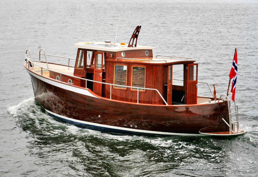 Mini Trawler Boat Plans
