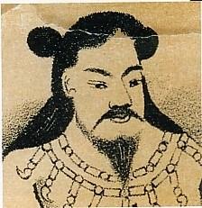 懿徳天皇肖像画