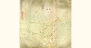 白河天皇肖像画