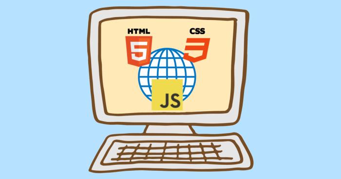 HTML, CSS, JavaScript image