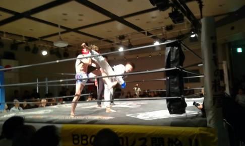 キックボクシング試合の結果