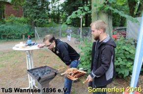 Bilder vom Sommerfest des TuS Wannsee 2016