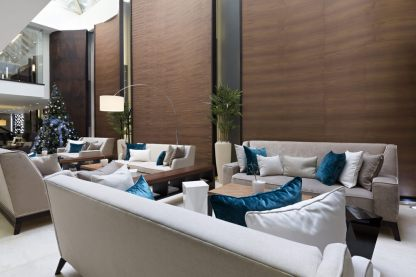 Hotel refurbishments including foyers, common areas and pool/courtyard areas to create a unique look and feel and set you apart from the competition.