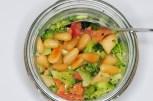Broccolisalat mit Pinienkernen- Meine Gästetafel - Ute Pieper