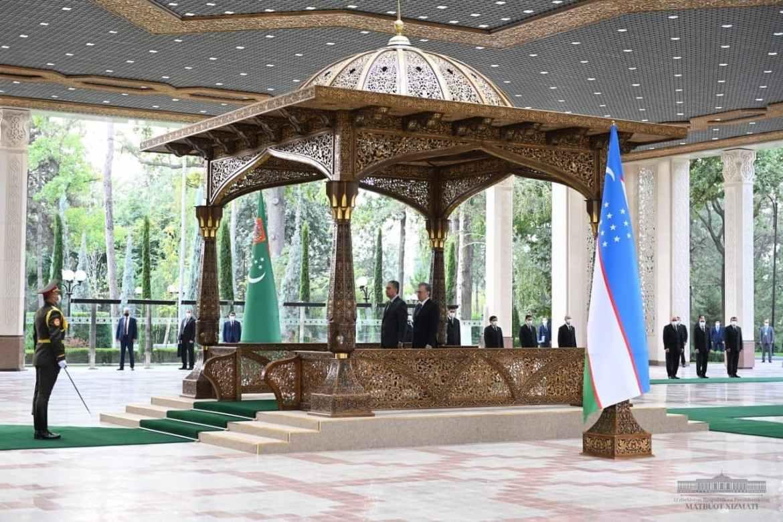 О чем говорили президенты Узбекистана и Туркменистана