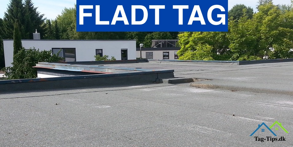 Fladt tag