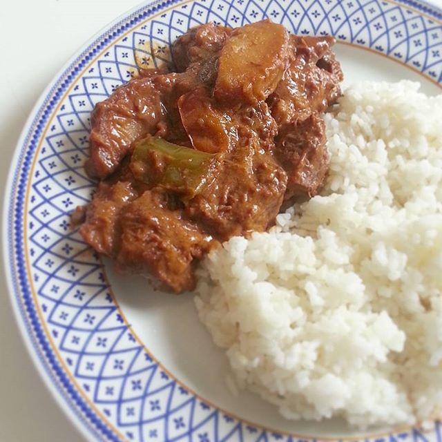 how to cook kalderetang manok with gata