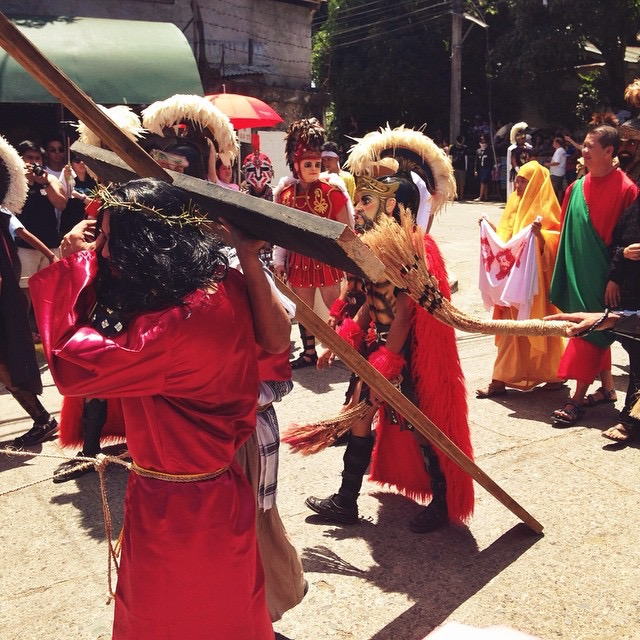 Moriones Festival: Via Crucis