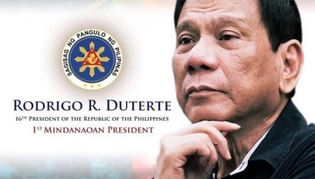Duterte: Mindanoan President