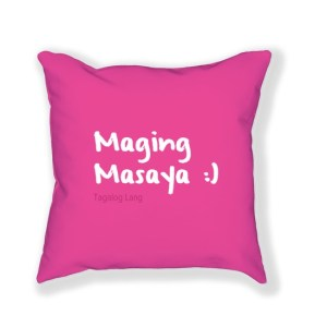 Tagalog Phrase on Pillow