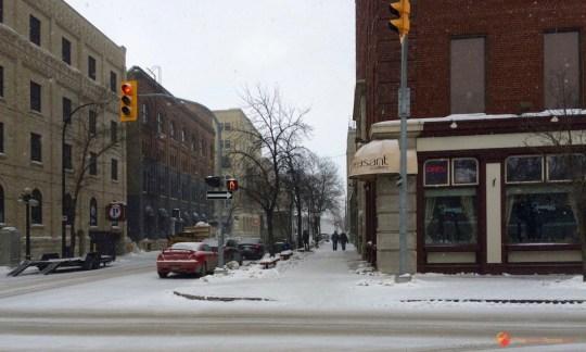 Bannatyne Avenue in Winnipeg