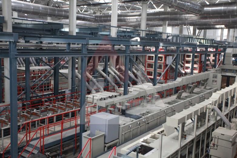 Automated galvanic lines