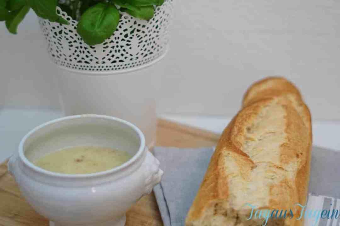 Lauchcreme-schnelle-Suppe