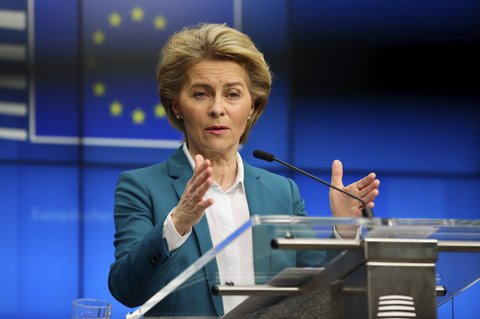 Parallel and organized: This is how Commission President Ursula von der Leyen imagines the further course of action of the EU countries.
