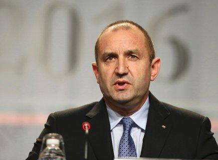 Bulgaria's head of state Rumen Radew.