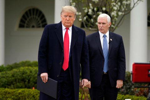 First team. President Trump and Vice Pence.