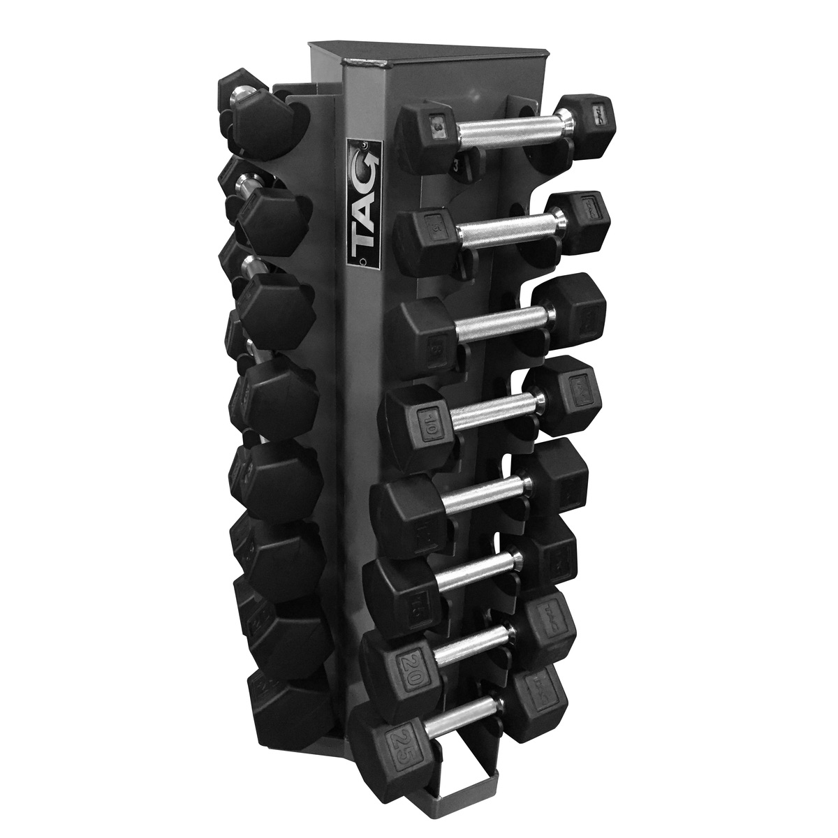 Tag 8 Pair Vertical Dumbbell Rack Tag Fitness