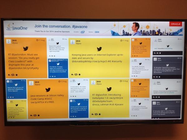 tweet wall theme on social media walls