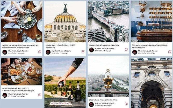 instagram social aggregator taggbox