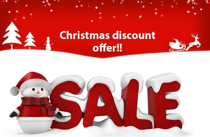 Design a Merry Christmas offer
