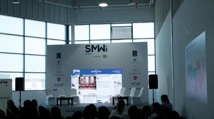 Social Media Week Dubai Social Wall
