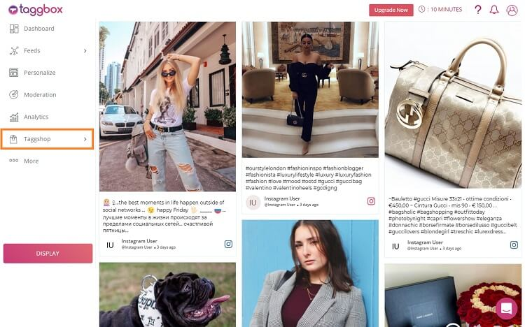 Embed Shoppable Instagram Posts