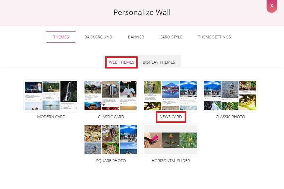 Select Web Themes