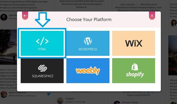 Choose HTML