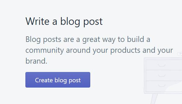 Add/Create Blog Post