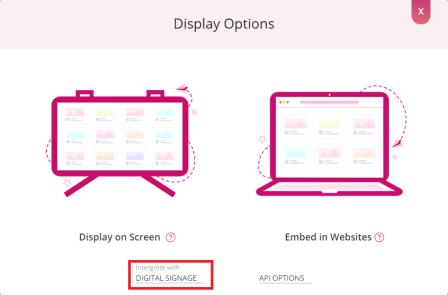Digital-signage-menu