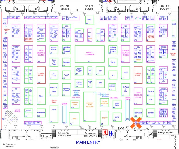 OzWater Floor Plan with Taggle