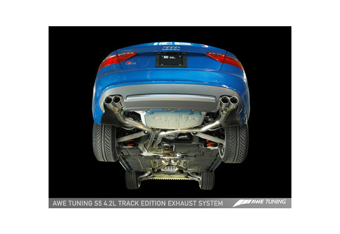 awe tuning audi s5 exhaust system