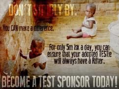 Become a TEST Sponsor...