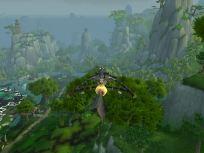 They travel via kites in Pandaria