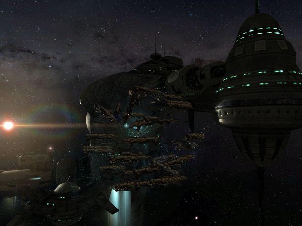 Landing back at VFK station