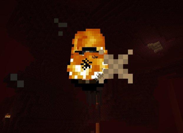 Incoming fireball, outgoing arrow