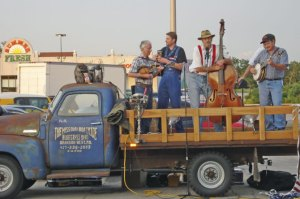 Missouri Boatride (featuring Dean Webb, far left)
