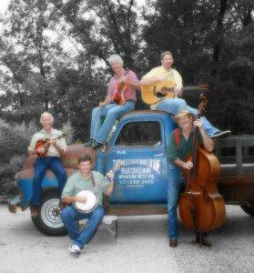 BOY OF THE HOOD--Dean Webb (on mandolin) and Missouri Boatride