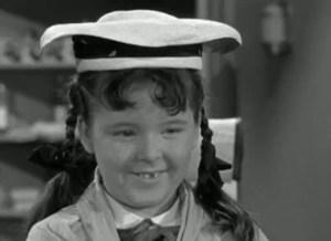 Joy Ellison as Miss Mayberry Jr., Mary Wiggins.  All hail!
