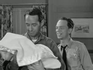 "William Schallert as ""Quiet Sam."""