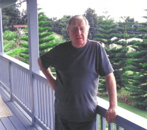 PARADISE FOUND--Dick enjoying life of leisure at home in Hawaii.